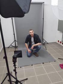 Studiohintergrund System on Location
