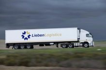 30-pallet refrigerated long-haul tri-axle combination