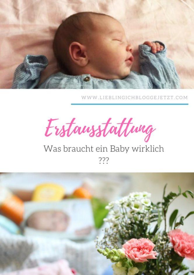Die Erstausstattung fuer mein Baby - Erfahrungen einer zweifach Mama