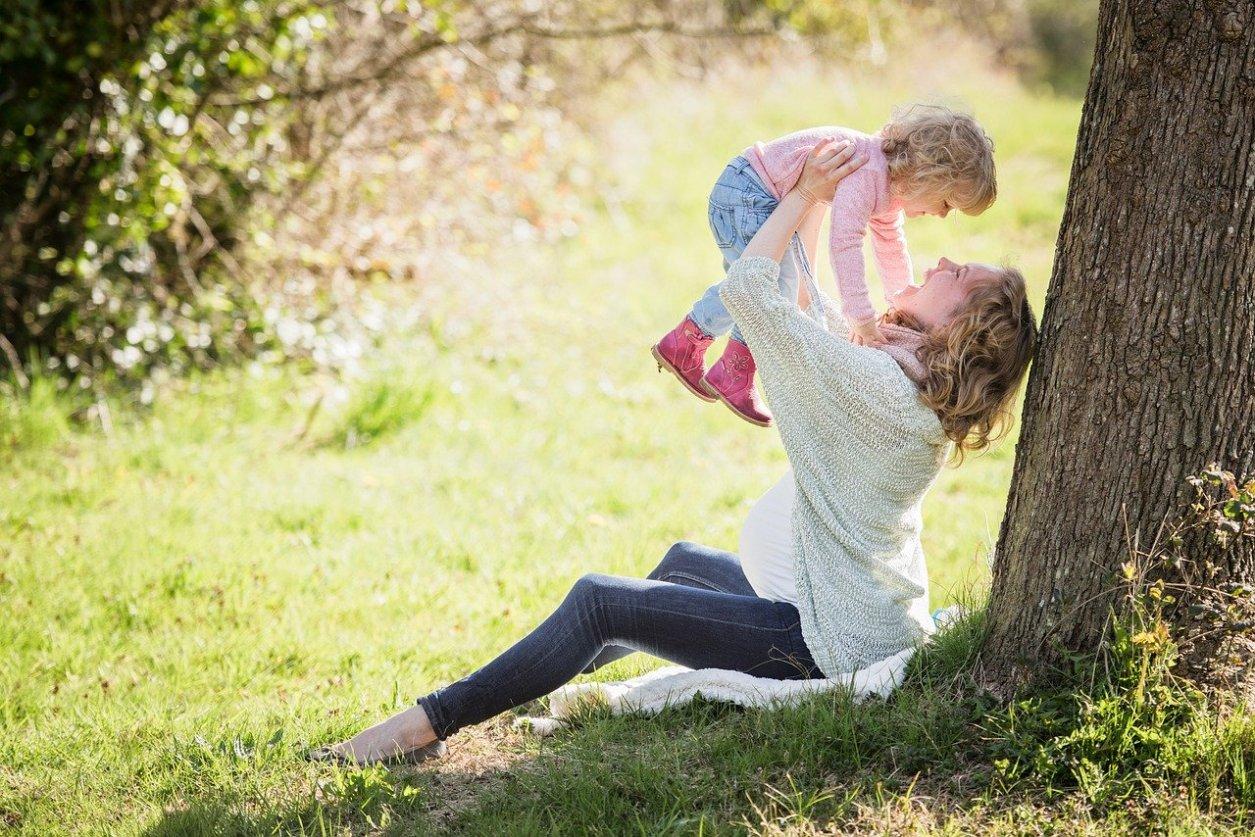 Mamaleben mit zwei Kindern