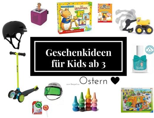 Was soll ich bloß meinen Kindern schenken? | Die collsten Geschenkideen für Kinder ab 3 Jahren - eine Ideensammlung!