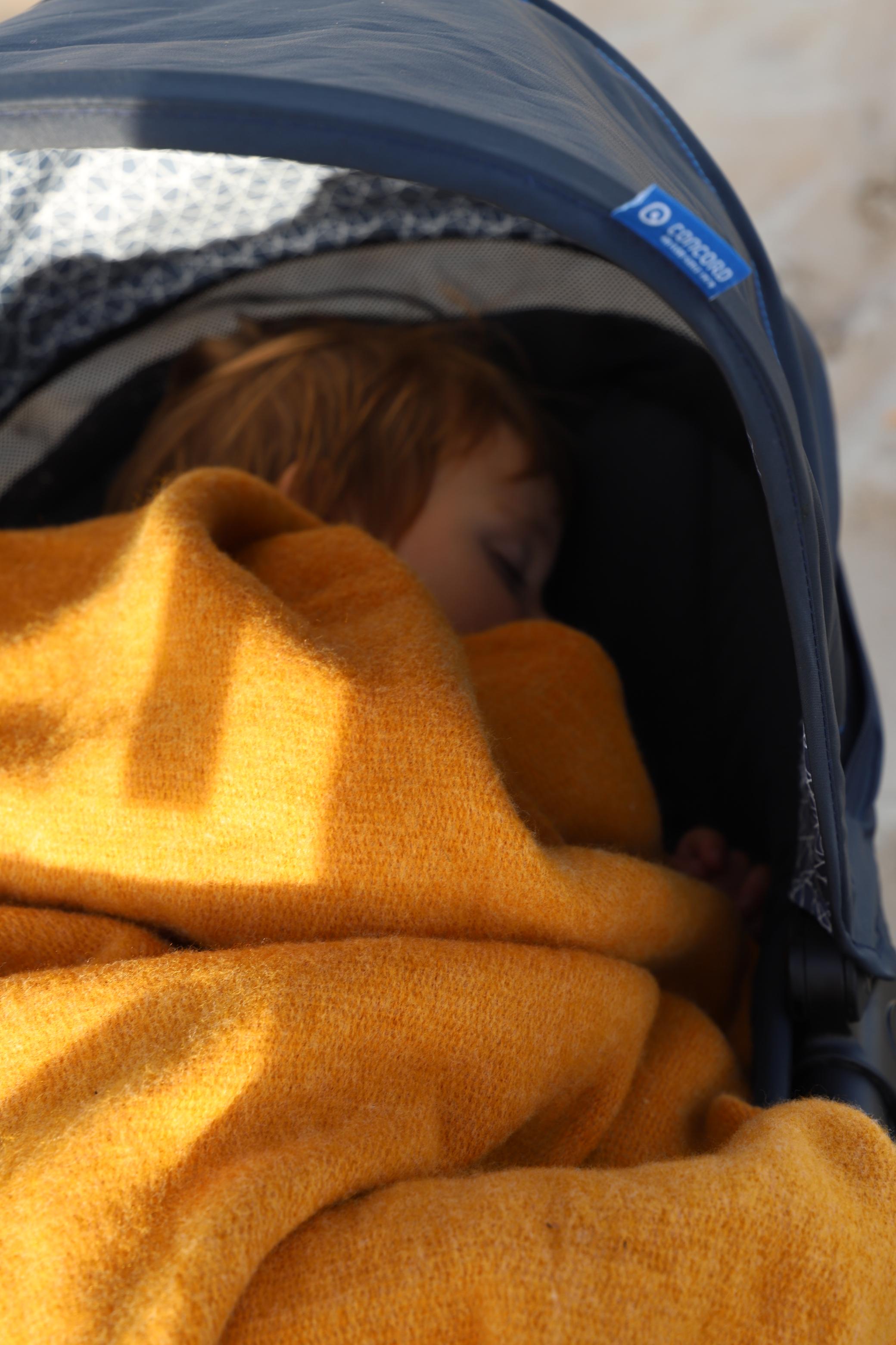 Kinderwagen Test für Kleinkind