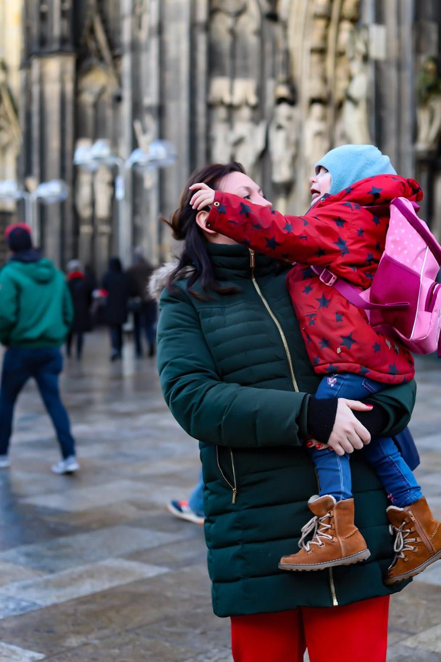 Leben mit Kindern Winter