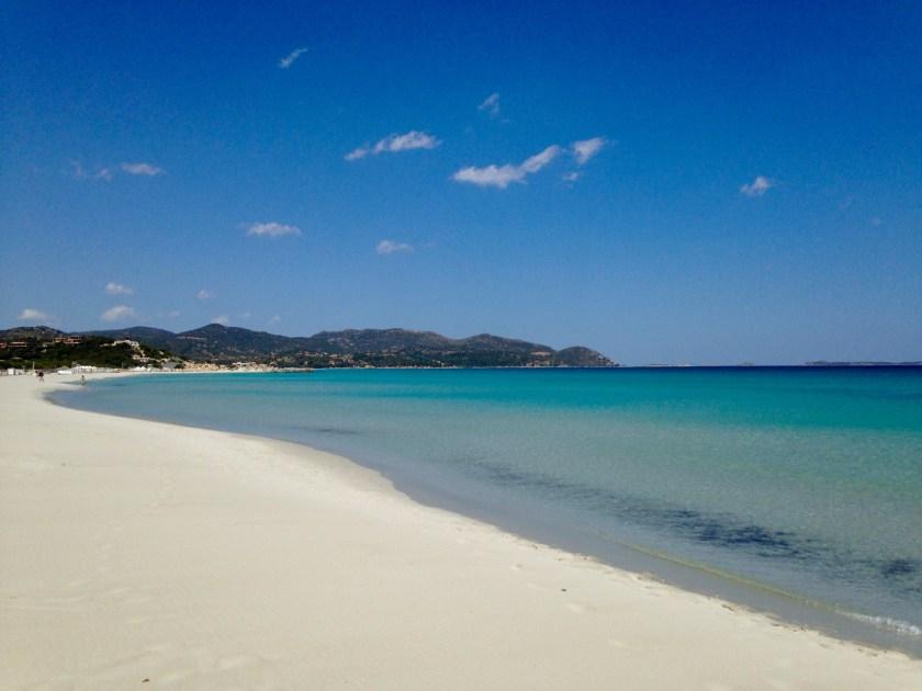 Karibikfeeling Spiagga Porto Giunco Sardinien