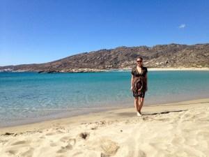 Maganari Beach auf Ios