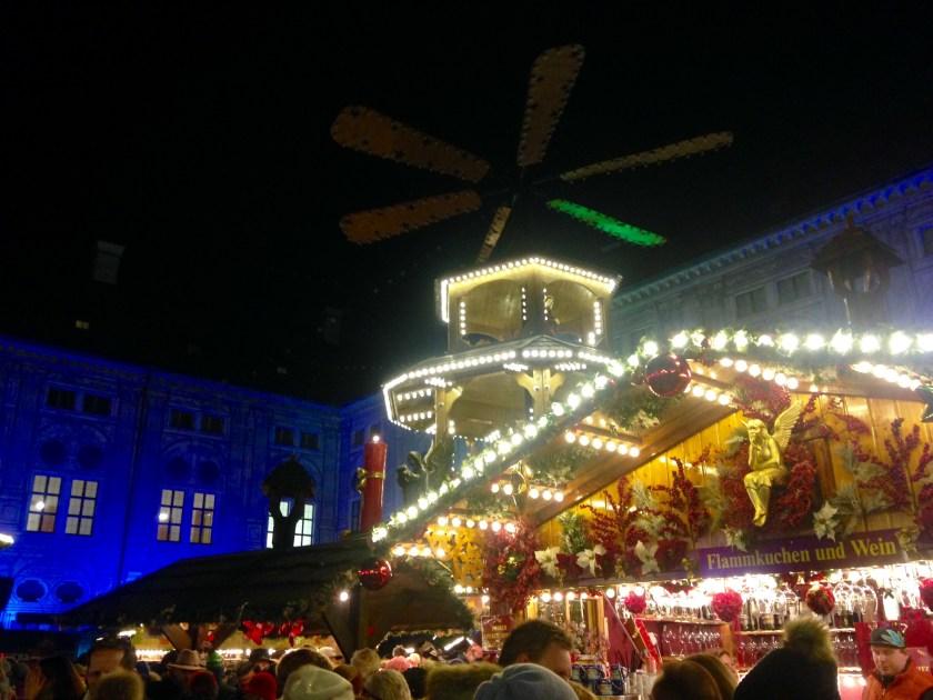 Weihnachtsmarkt in der Residenz