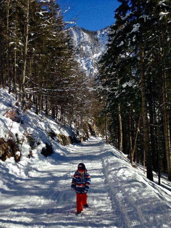 Winterwanderung zur Oberen Firstalm