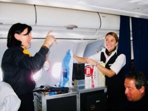 On Duty als Flugbegleiterin bei Lufthansa