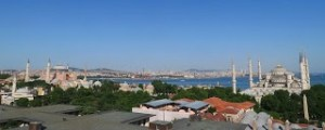 Ortaköy Mosque and Bosphorus Bridge