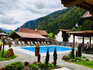 Österreich Urlaub im Chalet mit Pool