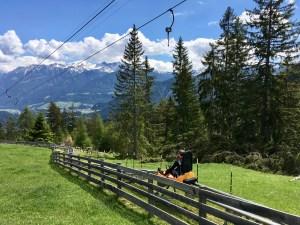 Alpine Coaster in Imst mit Kindern