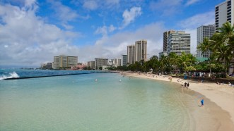 Waikiki Beach on Oahu