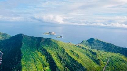 Oahu von oben