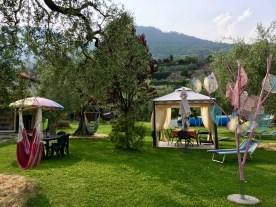 Pavillons im Garten zum Entspannen