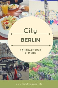 Citytrip Berlin with street art and bike tour