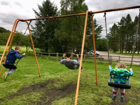 Spielplatz bei Fort William Schottland