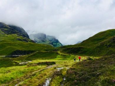 Wanderung Glencoe