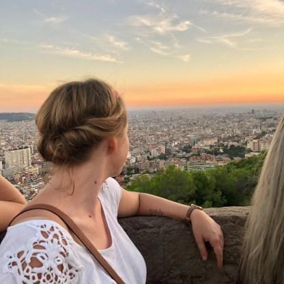 Barcelona Reisetipps Bunkers del Carmel zum Sonnenuntergang