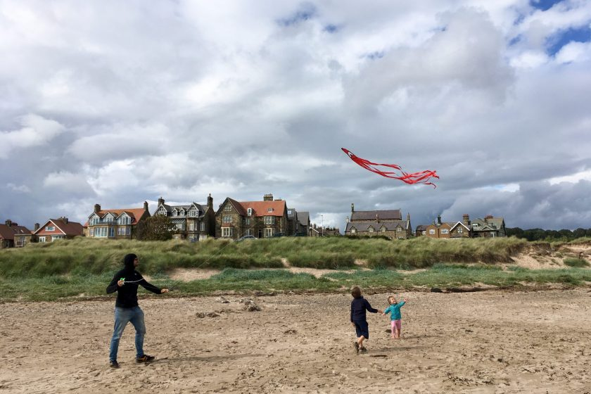 England Northumberland Riverside Beach House in Alnmouth