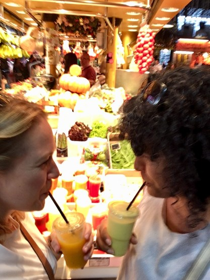 Friut Juices La Boqueria