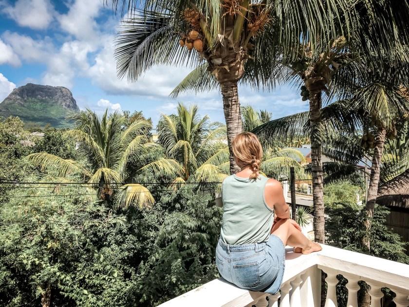 Blick vom Balkon Villa Seewoo