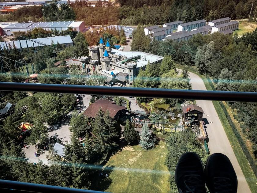 Ritterburg von oben