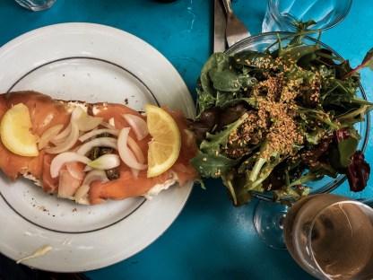 Tartines mit Lachs