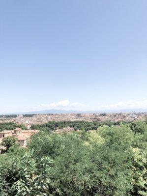 Ausblick vom Gianicolo