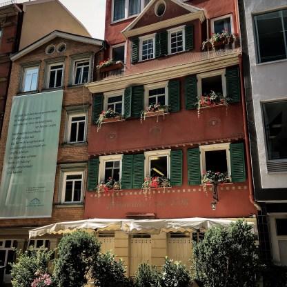 Häuser im Bohnenviertel
