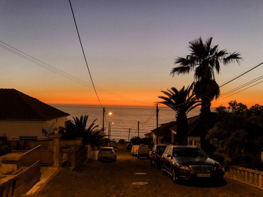 Sonnenuntergang über Ericeira