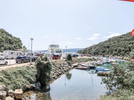 Fährhafen auf Krk