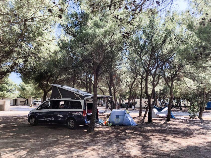 Camp Krka Kroatien