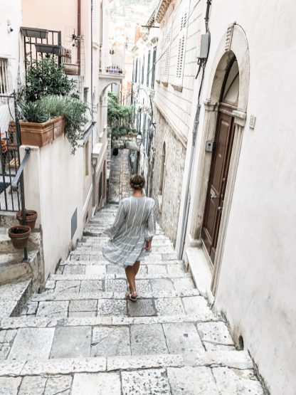 In the streets of Dubrovnik