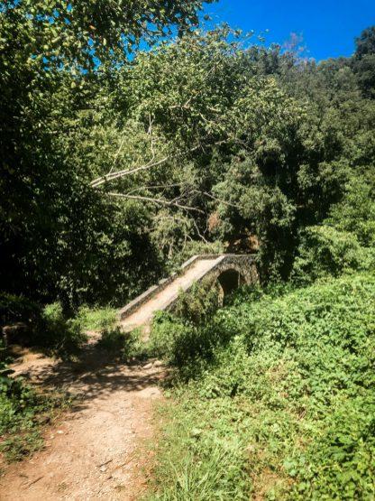 Pittoreske Genuesenbrücke