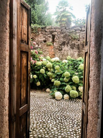 Tür zur Terrasse