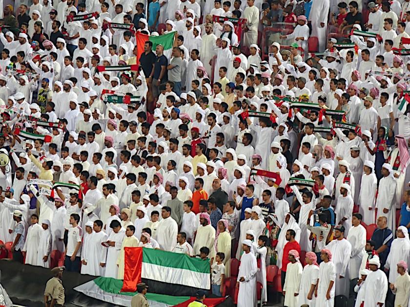 Fans Abu Dhabi