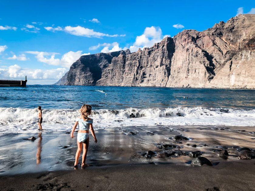 Playa de Los Guios auf Teneriffa
