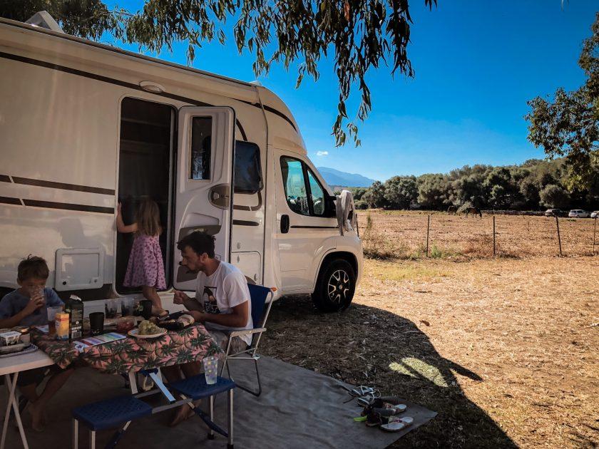 Wohnmobilurlaub mit Kindern auf Korsika