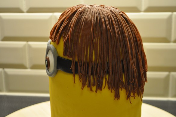 Hoe maak je een minion 3D taart?