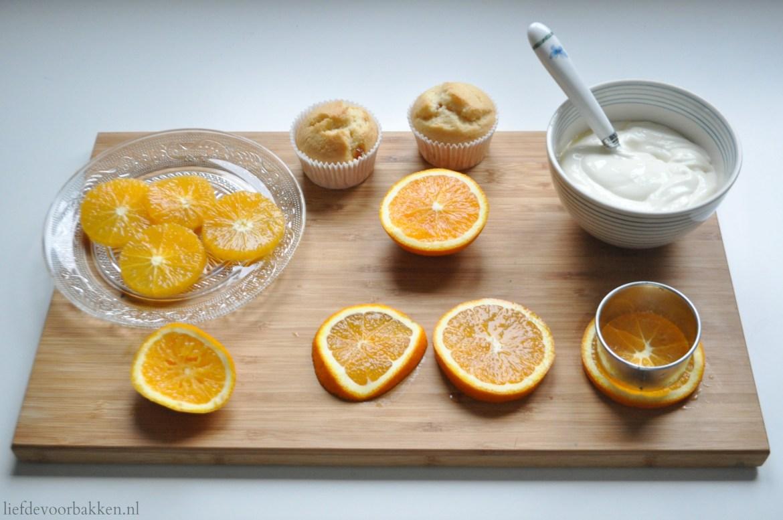 Sinaasappelcakejes