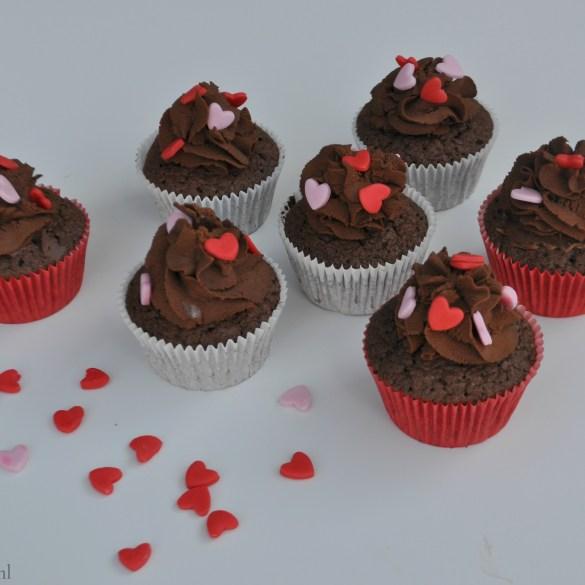 Nutella cupcakes voor Moederdag