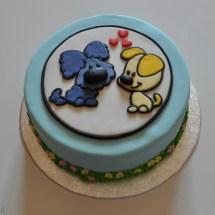 Woezel & Pip taart
