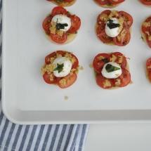 Mozzarella-tomaat