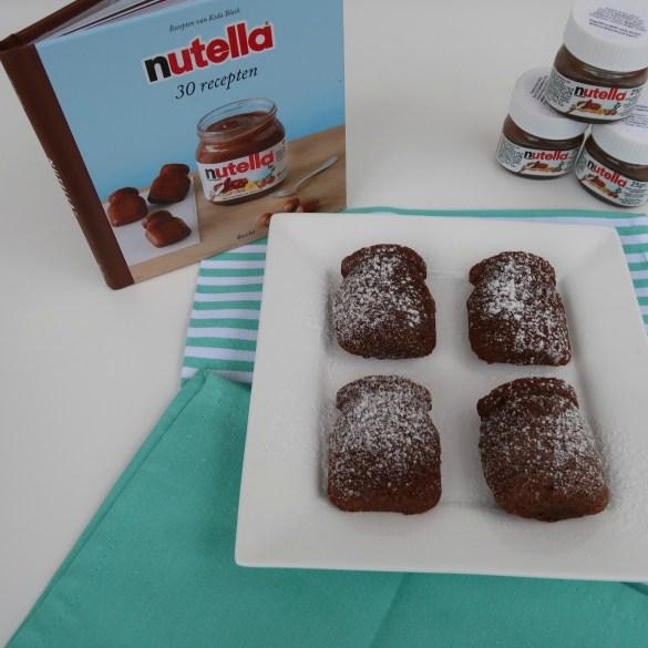 Review Nutella baksetje & Recept Nutella chocolade potjes
