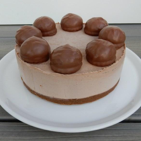 No bake cheesecake met Mellow Cakes