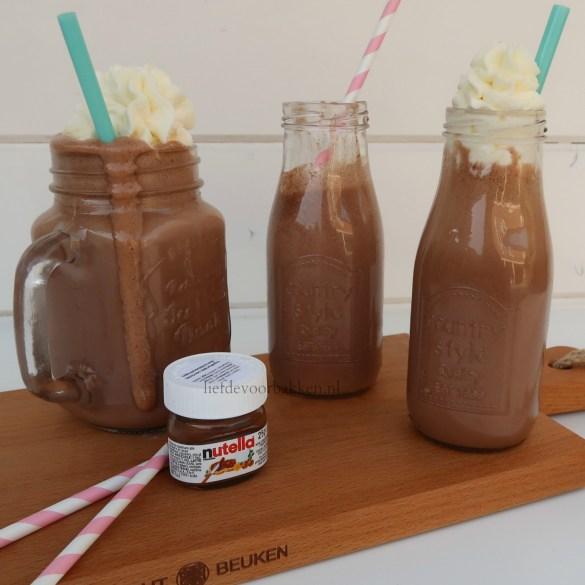 Nutella milkshake
