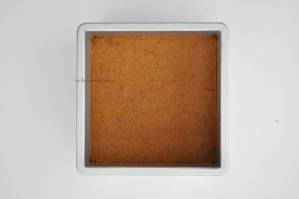 Tiramisu petit fours voor kerst