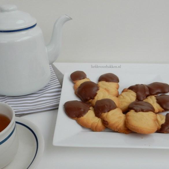 Chocolade spritskoekjes