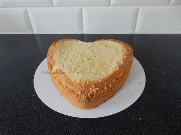 Harten taartje voor moederdag