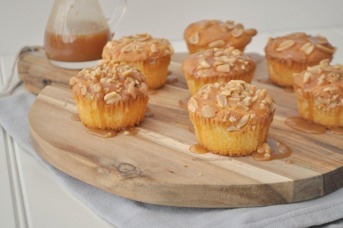Peanut Karamel Cupcakes